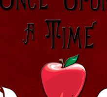 Once upon a time... Sticker
