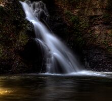 The Chute at Brasstown Falls by DHParsons