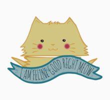 I am feline good right meow by FandomizedRose