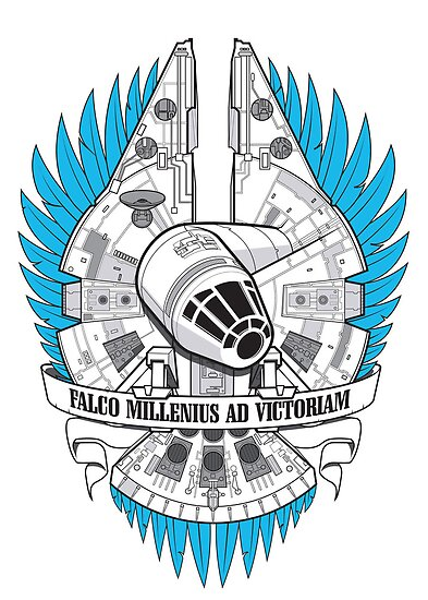 FALCO MILLENIUS AD VICTORIAM by Scott Robinson
