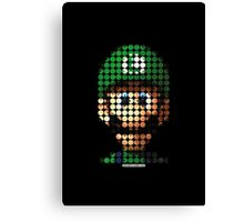 Luigi - Pictodotz Canvas Print