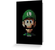 Luigi - Pictodotz Greeting Card