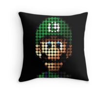 Luigi - Pictodotz Throw Pillow