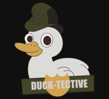 Ducktective: The duck detective by Drawing-Dipper