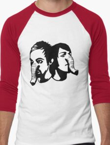 Death From Above 1979 - Head's Up Elelphant Head's Men's Baseball ¾ T-Shirt