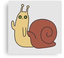 Adventure Time Snail Trance Canvas Print