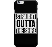 Straight Outta The Shire - Movie Mashup - Hobbit Homeboys - Nerd Humor - Hobbits iPhone Case/Skin