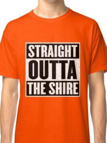 Straight Outta The Shire - Movie Mashup - Hobbit Homeboys - Nerd Humor - Hobbits Classic T-Shirt