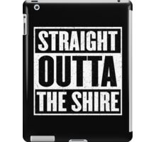 Straight Outta The Shire - Movie Mashup - Hobbit Homeboys - Nerd Humor - Hobbits iPad Case/Skin