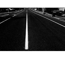 Straight Ahead Photographic Print