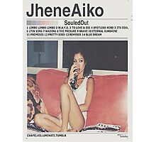 Jhene Aiko Souled Out Weeknd Template Photographic Print