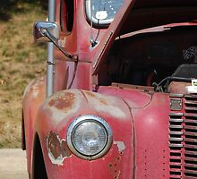 Got Rust?  This Red truck does. by waimages