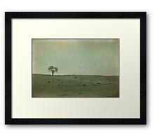Ten Cows Framed Print