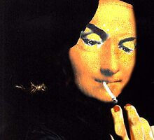 Smokin' Mona Lisa by Seth  Weaver