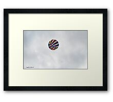 summer village fun  Framed Print