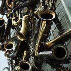 Saxophones. 2010 by Igor Pozdnyakov