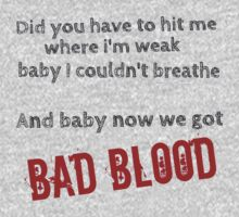 Bad Blood! Kids Clothes