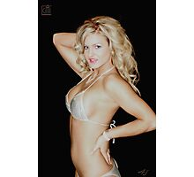 Nice Blond Girl Photographic Print