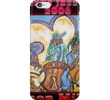 2006 jazz festival poster iPhone Case/Skin