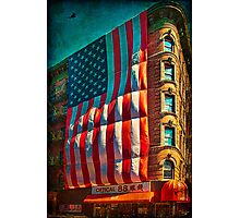 The Big Big Flag, New York City Photographic Print
