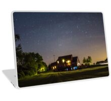 Stars over a Home Laptop Skin