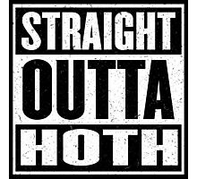 Straight Outta Hoth - Movie Mashup - Rebels in the Hood - Science Fiction Nerdy Humor Photographic Print