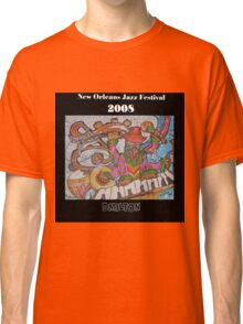 2008 New Orleans Jazz Fest Poster Classic T-Shirt