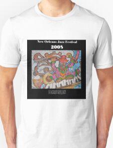 2008 New Orleans Jazz Fest Poster Unisex T-Shirt