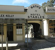 Baths Hotel & Stables-Sovereign Hill-Ballarat by judygal