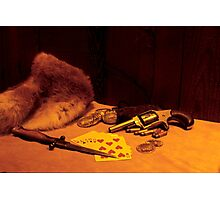 Old West Still Life Photographic Print