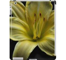 Yellow Cool It Daylily HDR iPad Case/Skin