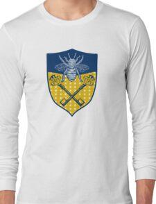 Key and Bee Emblem Long Sleeve T-Shirt