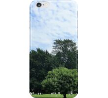 The old cemetary iPhone Case/Skin