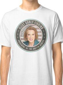 Elect Carly Fiorina Classic T-Shirt