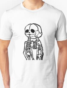 Conjoined Skeletons Unisex T-Shirt