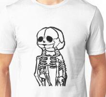 Conjoined Skeletons Unisex T-Shirt