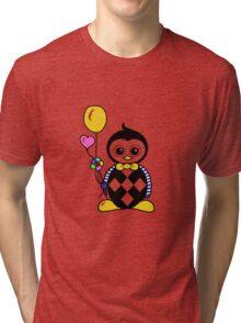 Percy the cute penguin Tri-blend T-Shirt