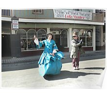 Street Performers -Sovereign Hill Poster