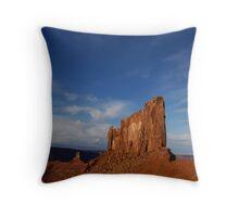 Where the desert meets the sky. Throw Pillow