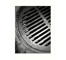 Drainage - 1 Art Print