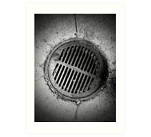 Drainage - 3 Art Print