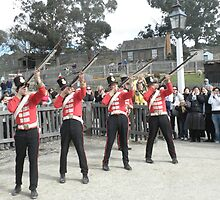 Redcoat Soldiers - Sovereign Hill - Ballarat by judygal