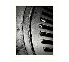 Drainage - 6 Art Print