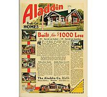 Advertisements Photoplay Magazine February through June 1921 0207 Aladdin Ready Cut Homes Photographic Print
