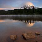 Majestic  Rainier Dawn by DawsonImages
