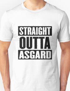 Straight Outta Asgard - Avenging the Hood - Movie Mashup - Geek Humor & Comics T-Shirt