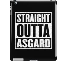 Straight Outta Asgard - Avenging the Hood - Movie Mashup - Geek Humor & Comics iPad Case/Skin