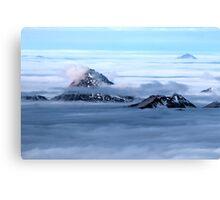 Winter on Kitzsteinhorn 37 Canvas Print