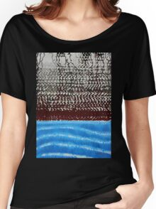 Summer Squall original painting Women's Relaxed Fit T-Shirt