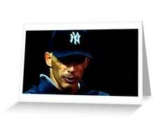 Yankee Manager Greeting Card